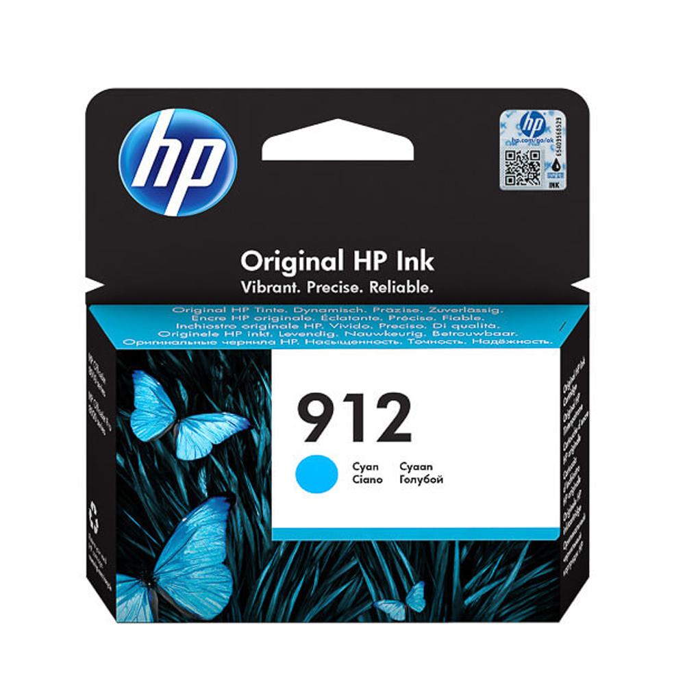HP Μελάνι Inkjet No.912 Cyan (3YL77AE) (HP3YL77AE)