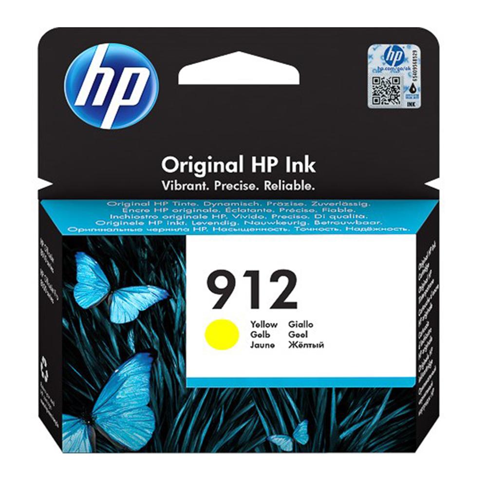 HP Μελάνι Inkjet No.912 Yellow (3YL79AE) (HP3YL79AE)