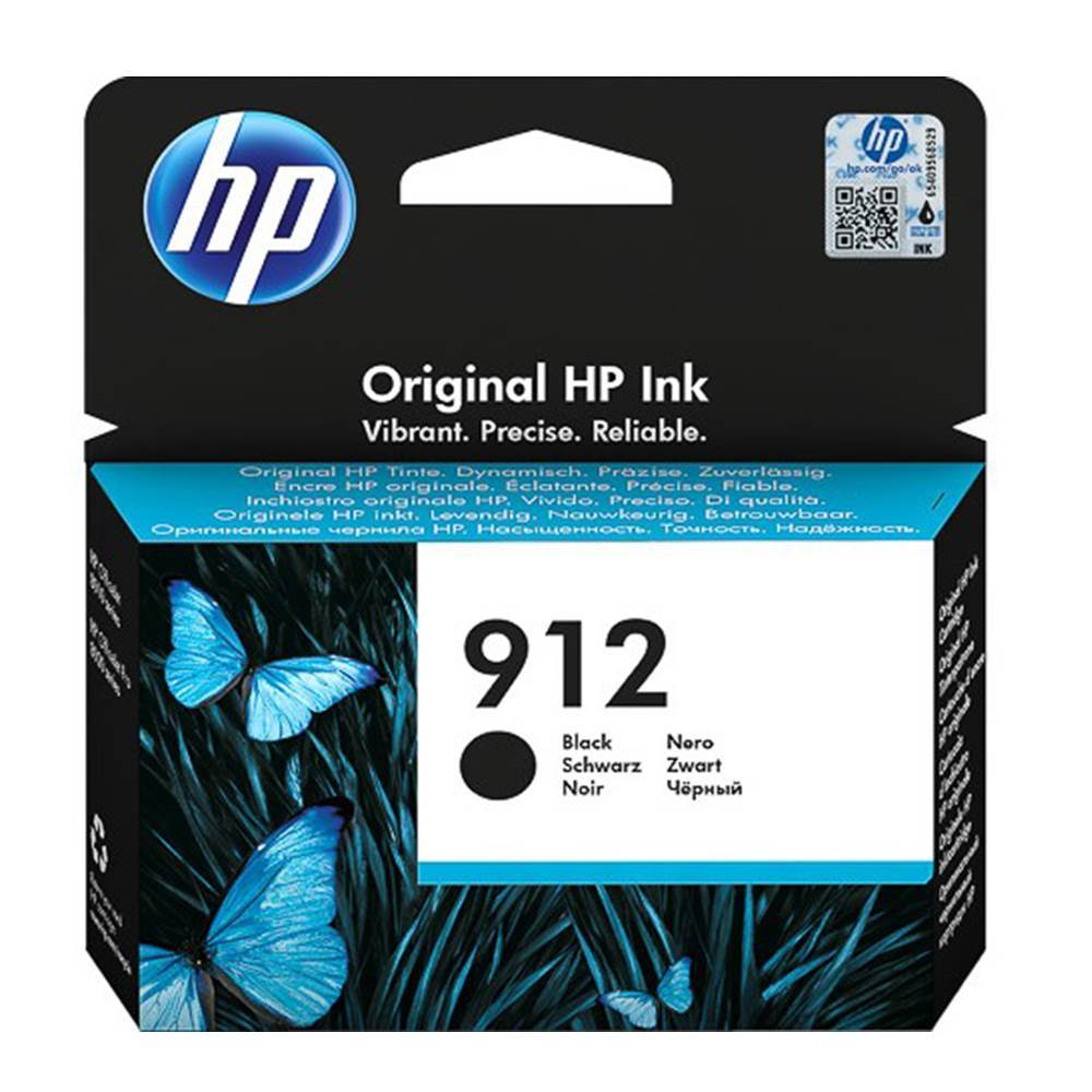 HP Μελάνι Inkjet No.912 Black (3YL80AE) (HP3YL80AE)