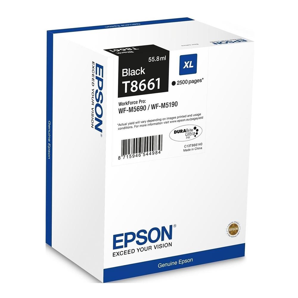 Epson Μελάνι Inkjet T8661 Black (C13T866140) (EPST866140)