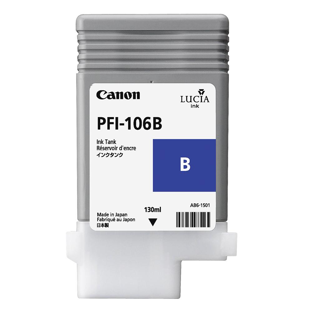 Canon Μελάνι Inkjet PFI-106B Blue (6629B001) (CANPFI-106B)