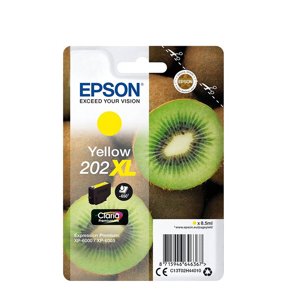 Epson Μελάνι Inkjet 202XL Yellow (C13T02H44010) (EPST02H440)