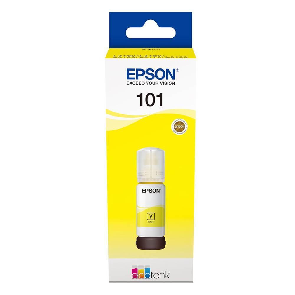 Epson Μελάνι Inkjet 101 Yellow (C13T03V44A) (EPST03V44A)