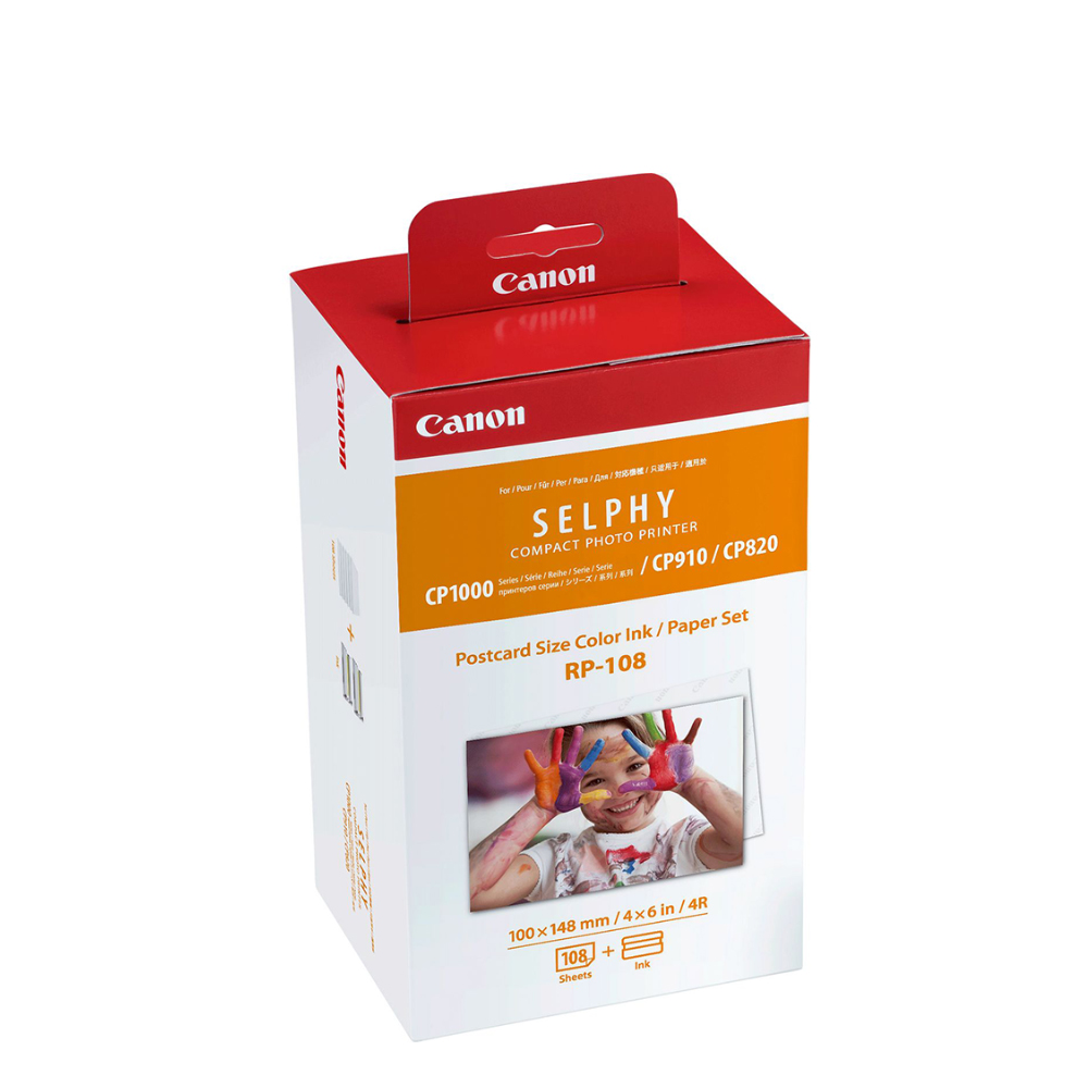 Canon Μελάνι Inkjet RP-108 TRI-COLOUR + PHOTO PAPER (8568B001) (CAN-RP108)