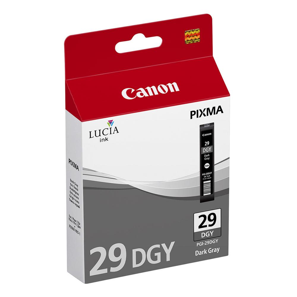 Canon Μελάνι Inkjet PGI-29DGY Dark Grey (4870B001) (CANPGI-29DGY)