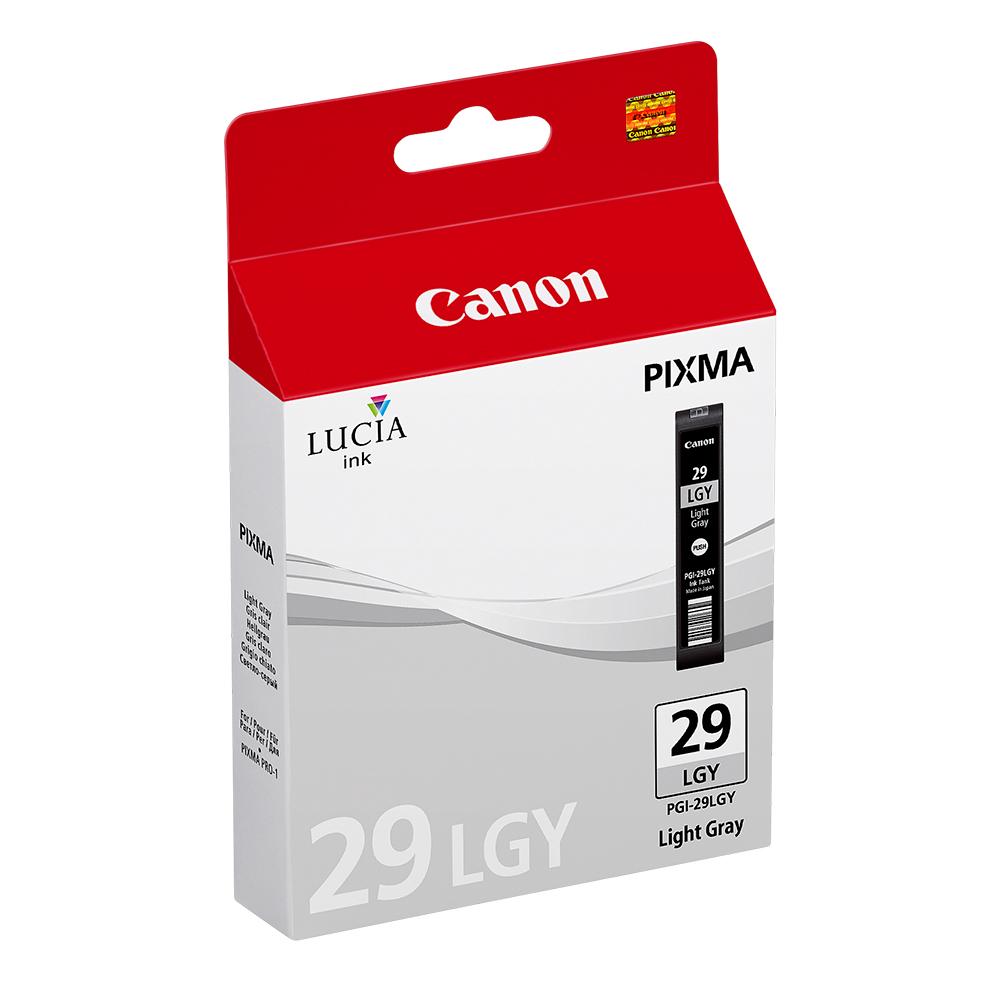 Canon Μελάνι Inkjet PGI-29LGY Light Grey (4872B001) (CANPGI-29LGY)
