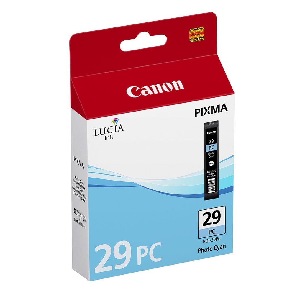 Canon Μελάνι Inkjet PGI-29PC Photo Cyan (4876B001) (CANPGI-29PC)
