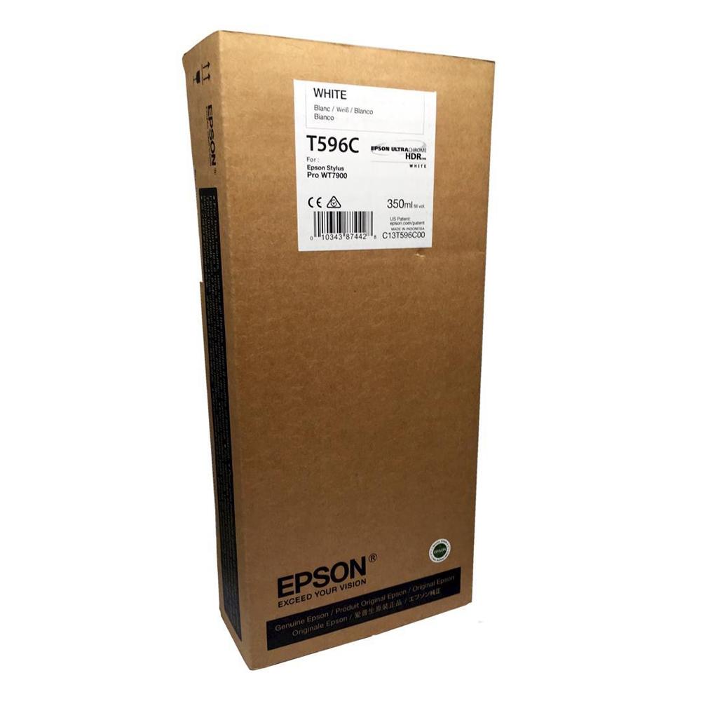 Epson Μελάνι Inkjet T596C White (C13T596C00) (EPST596C00)