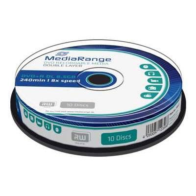 MediaRange DVD+R Dual Layer 240' 8.5GB 8x Cake Box x 10 (MR466)