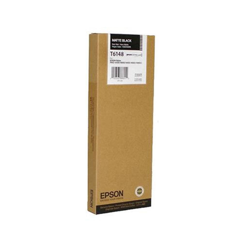 Epson Μελάνι Inkjet T6148 Matte Black (C13T614800) (EPST614800)