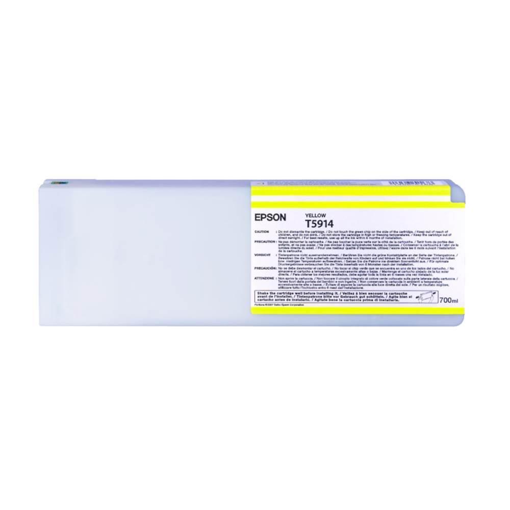 Epson Μελάνι Inkjet T5914 Yellow (C13T591400) (EPST591400)
