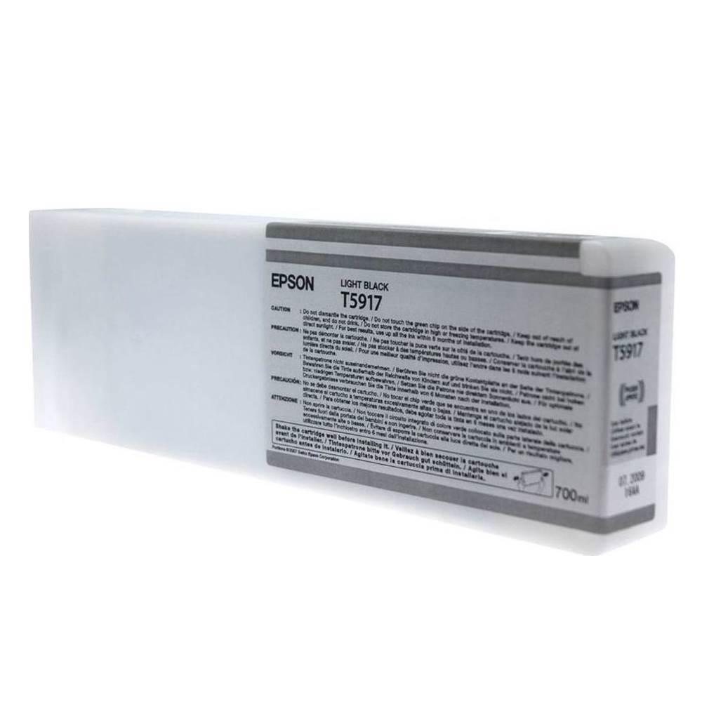 Epson Μελάνι Inkjet T5917 Light Black (C13T591700) (EPST591700)