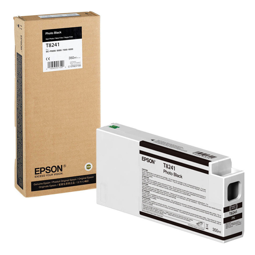 Epson Μελάνι Inkjet T8241 Photo Black (C13T824100) (EPST824100)