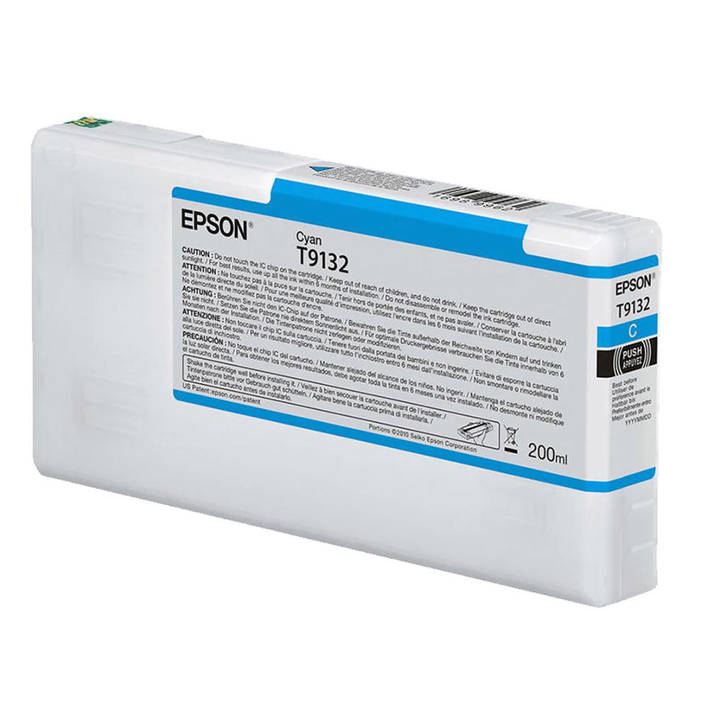 Epson Μελάνι Inkjet T9132 Cyan (C13T913200) (EPST913200)