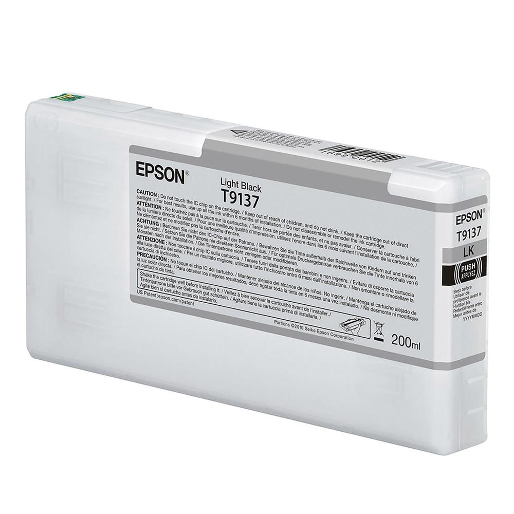 Epson Μελάνι Inkjet T9137 Black (C13T913700) EPST913700