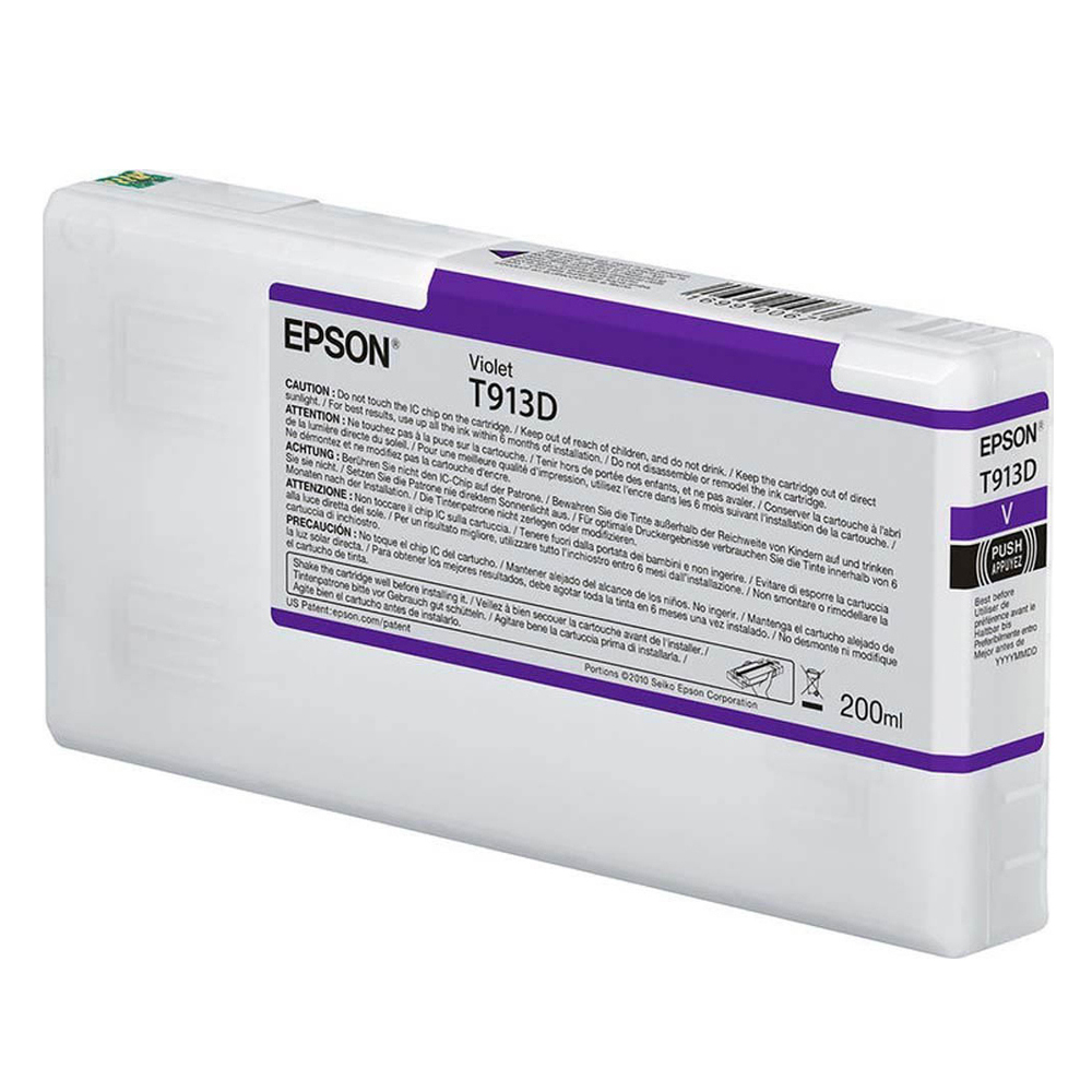 Epson Μελάνι Inkjet T913D Purple (C13T913D00) (EPST913D00)