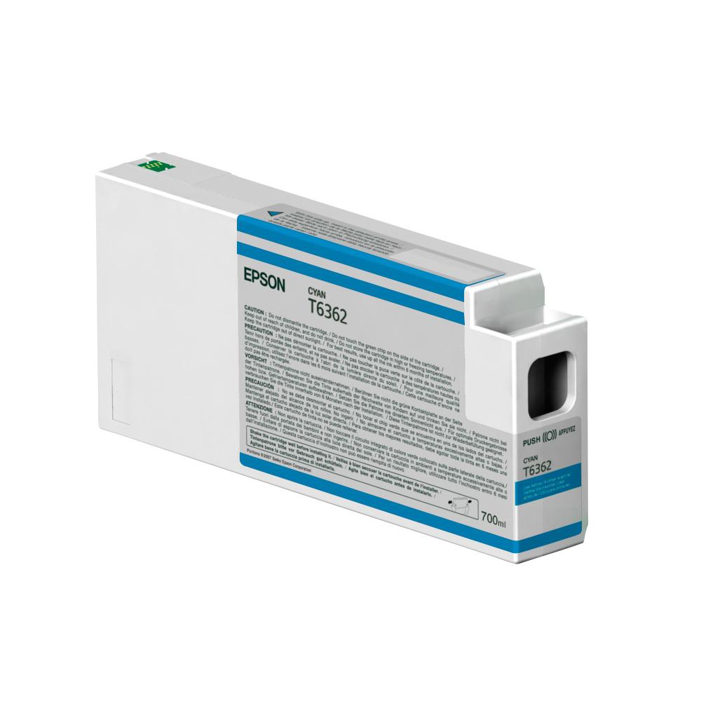 Epson Μελάνι Inkjet T6362 Cyan (C13T636200) (EPST636200)