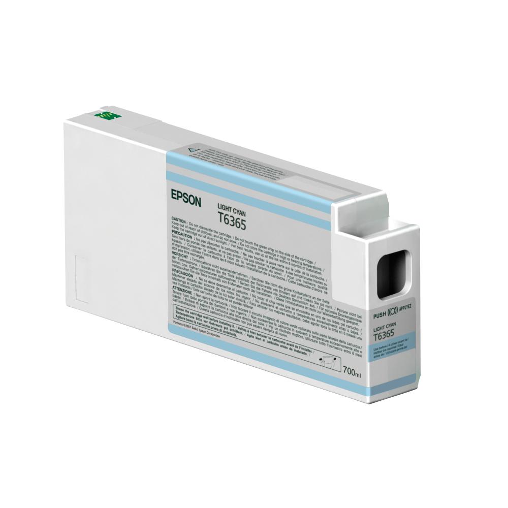 Epson Μελάνι Inkjet T6365 Ligth Cyan (C13T636500) (EPST636500)