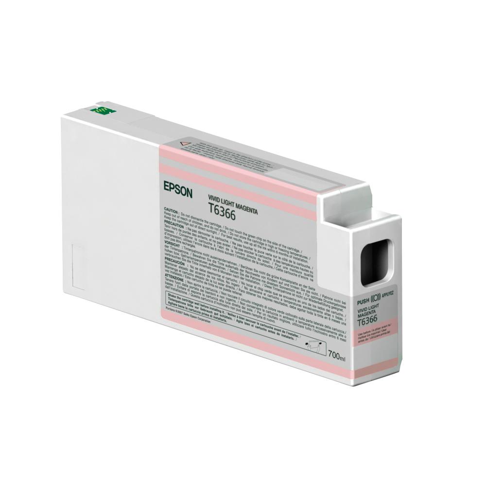 Epson Μελάνι Inkjet T6366 Vivid Light Magenta (C13T636600) (EPST636600)