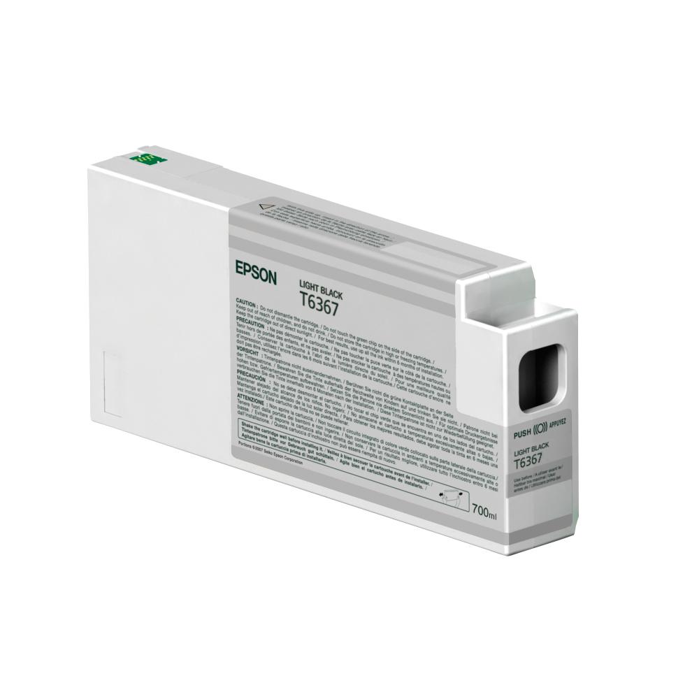 Epson Μελάνι Inkjet T6367 Light Black (C13T636700) (EPST636700)