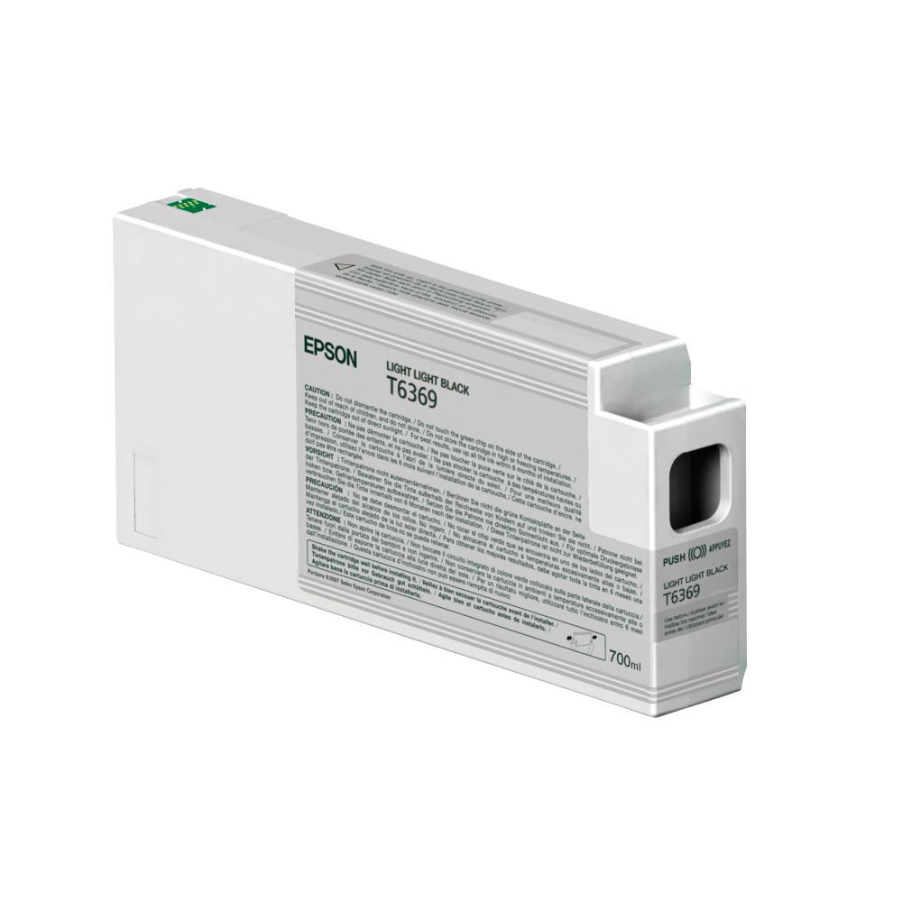 Epson Μελάνι Inkjet T6369 Light Light Black (C13T636900) (EPST636900)