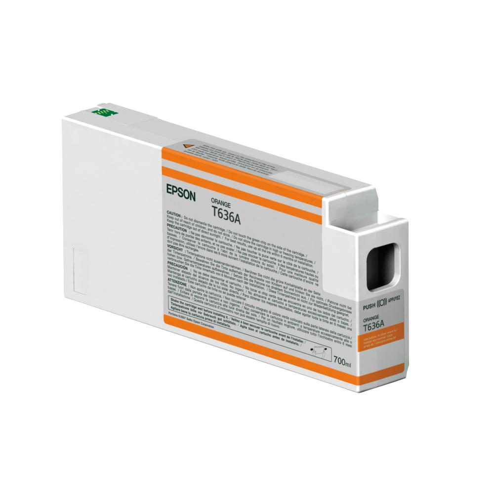 Epson Μελάνι Inkjet T636A Orange (C13T636A00) (EPST636A00)