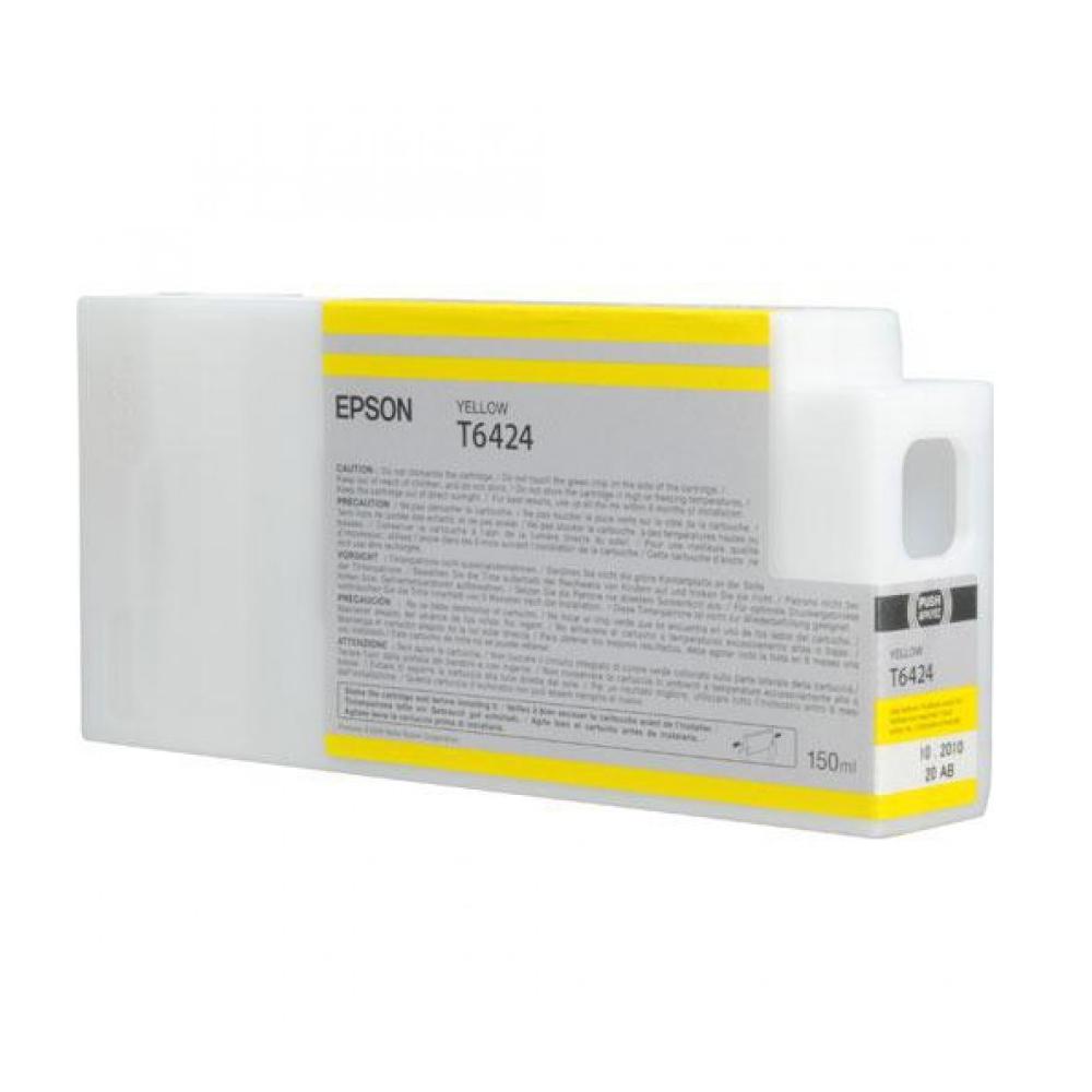 Epson Μελάνι Inkjet T6424 Yellow (C13T642400) (EPST642400)