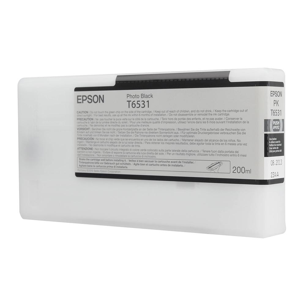 Epson Μελάνι Inkjet T6537 Black (C13T653700) (EPST653700)