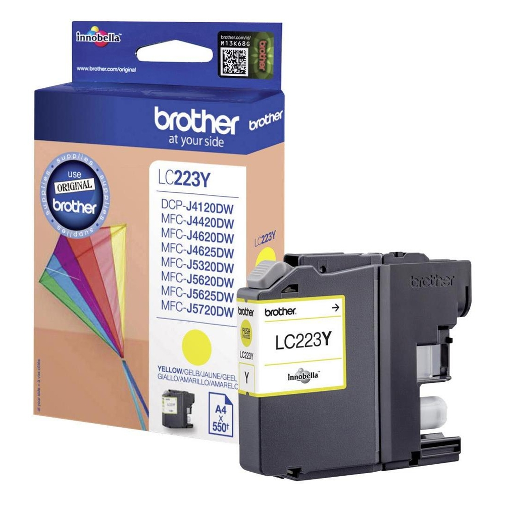 Brother Μελάνι Inkjet LC-223 Yellow (LC-223Y) (BRO-LC-223Y)