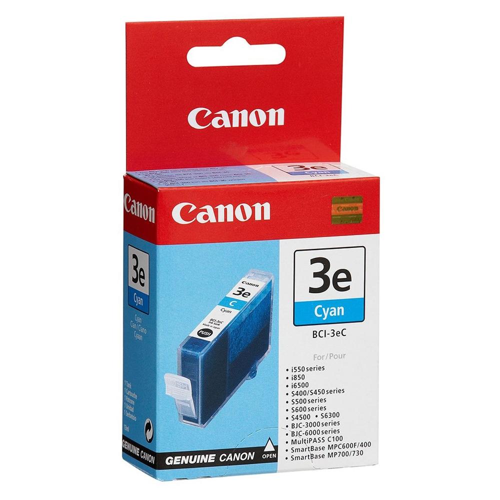 Canon Μελάνι Inkjet BCI-3eC Cyan (4480A002) (CANBCI-3EC)