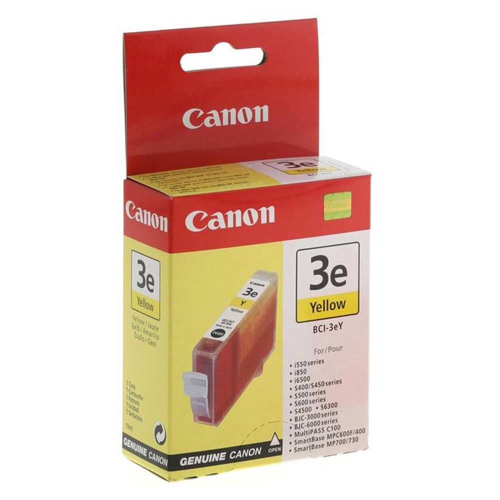 Canon Μελάνι Inkjet BCI-3eY Yellow (4482A002) (CANBCI-3EY)