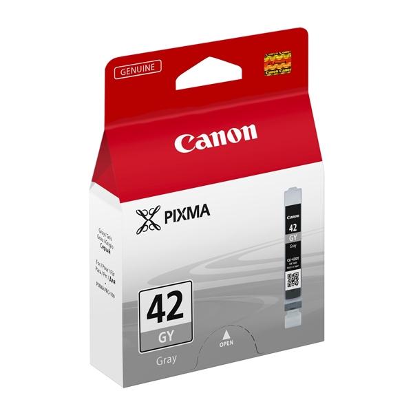 Canon Μελάνι Inkjet CLI-42GY Grey (6390B001) (CANCLI-42GY)