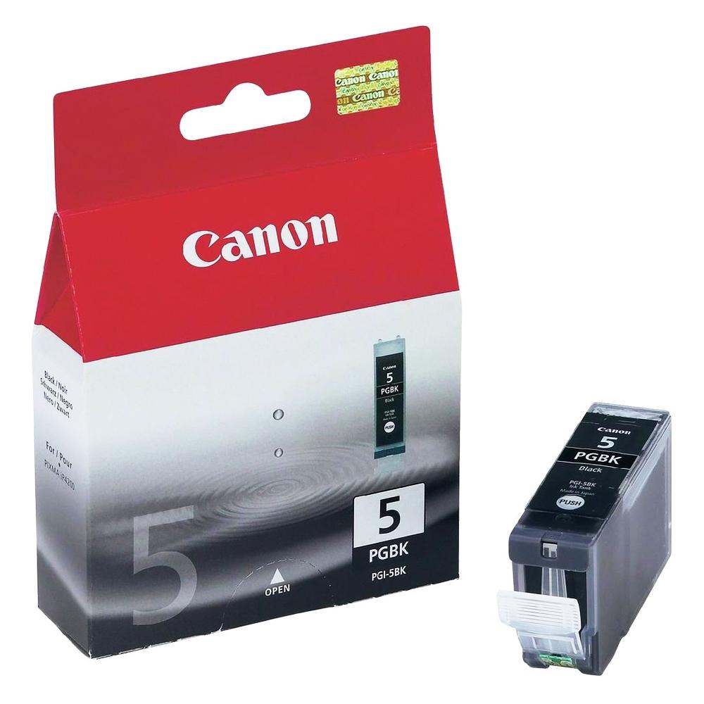 Canon Μελάνι Inkjet PGI-5BK Black (0628B001) (CANPGI-5BK)