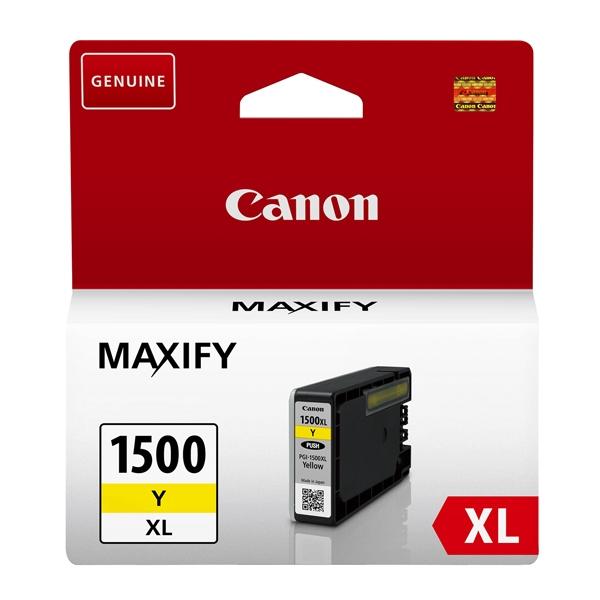 Canon Μελάνι Inkjet PGI-1500Y XL Yellow (9195B001) (CANPGI-1500Y)