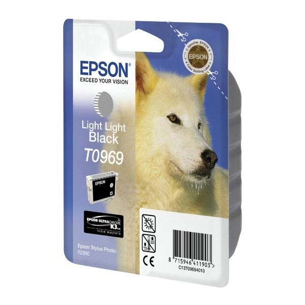 Epson Μελάνι Inkjet T0969 Light Light Black (C13T09694010) (EPST096940)