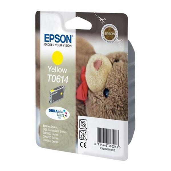 Epson Μελάνι Inkjet T0614 Yellow (C13T06144010) (EPST061440)