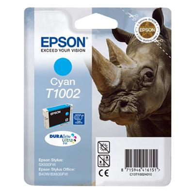 Epson Μελάνι Inkjet T1002 Cyan (C13T10024010) (EPST100240)