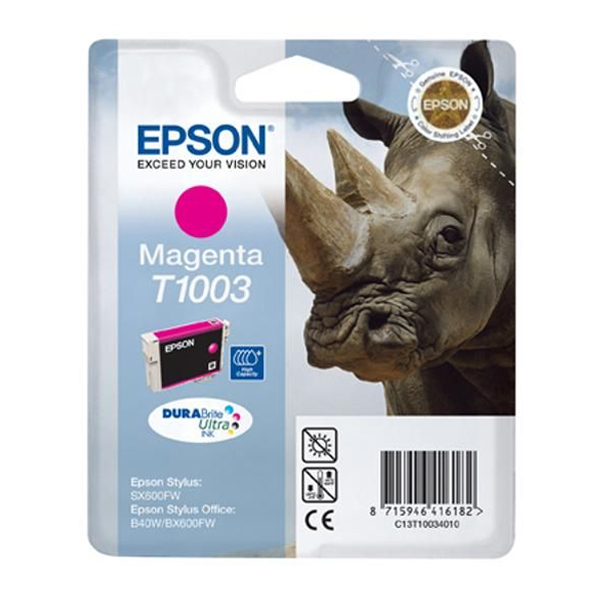 Epson Μελάνι Inkjet T1003 Magenta (C13T10034010) (EPST100340)