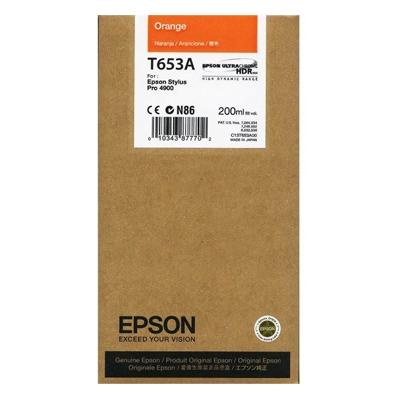 Epson Μελάνι Inkjet T653A Orange (C13T653A00) (EPST653A00)