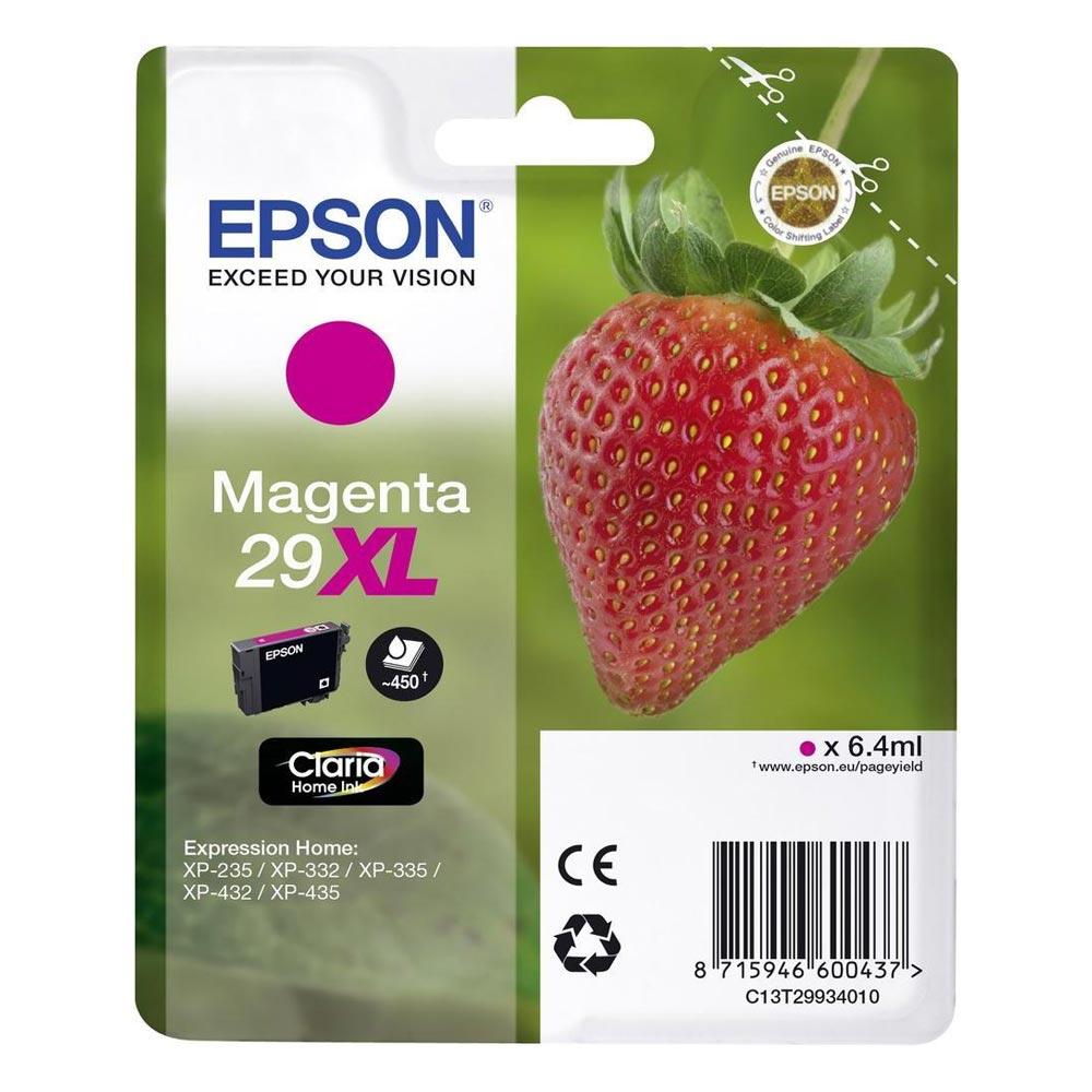 Epson Μελάνι Inkjet Series 29 Magenta XL (C13T29934012) (EPST299340)