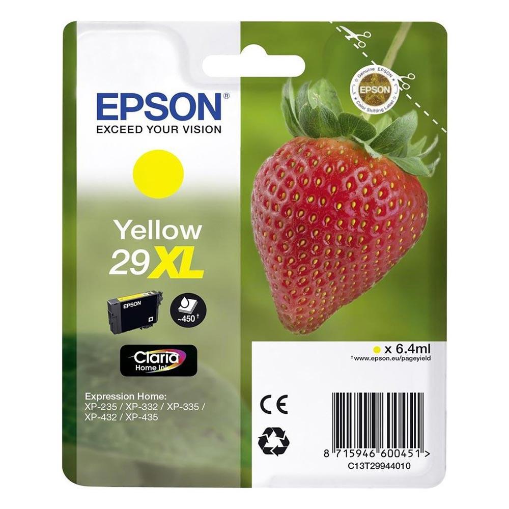 Epson Μελάνι Inkjet Series 29 Yellow XL (C13T29944012) (EPST299440)