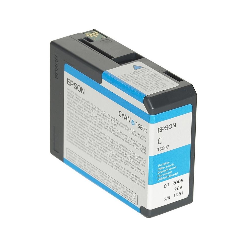 Epson Μελάνι Inkjet T5808 Matte Black (C13T580800) (EPST580800)