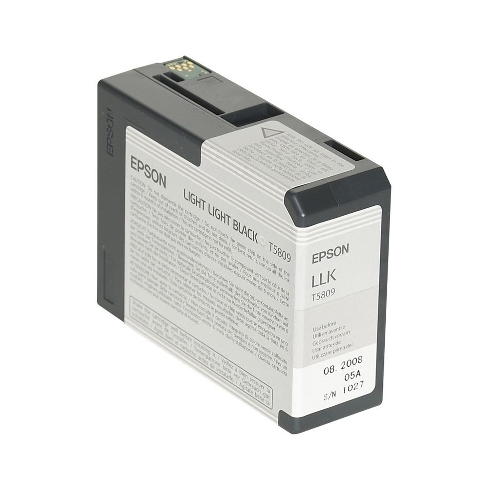 Epson Μελάνι Inkjet T5809 Light Light Black (C13T580900) (EPST580900)