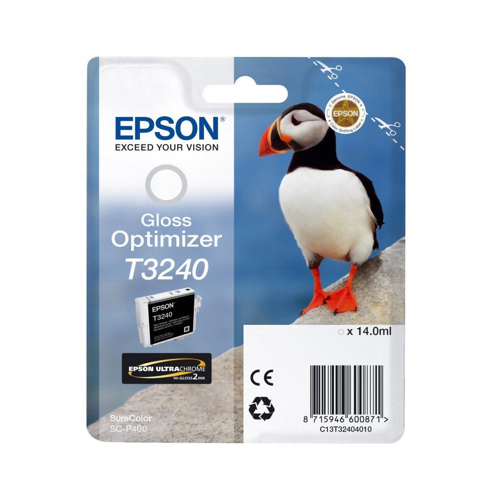 Epson Μελάνι Inkjet T3240 Gloss Optimizer (C13T32404010) (EPST324040)