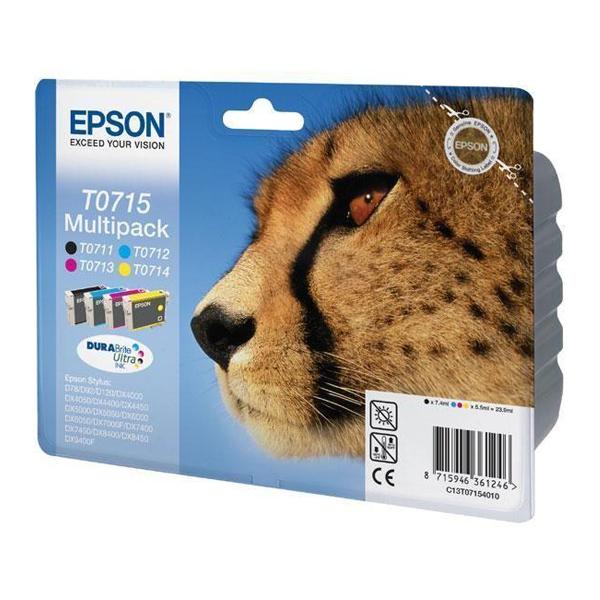 Epson Μελάνι Inkjet T0715 Multipack (C13T07154012) (EPST071540)