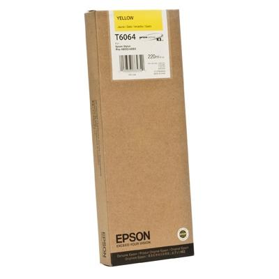 Epson Μελάνι Inkjet T6064 Yellow (C13T606400) (EPST606400)