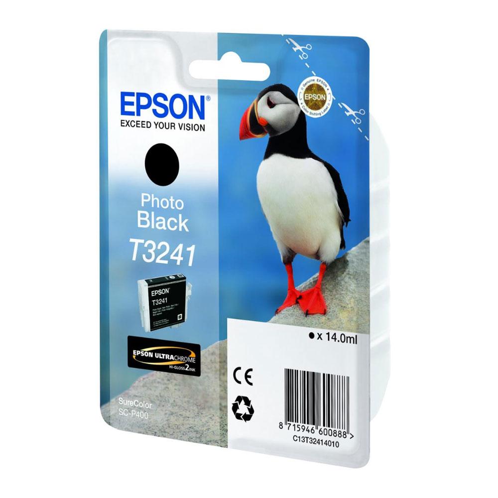 Epson Μελάνι Inkjet T3241 Black (C13T32414010) (EPST324140)