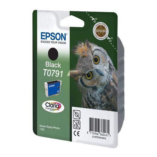 Epson Μελάνι Inkjet T0791 Black (C13T07914010) (EPST079140)