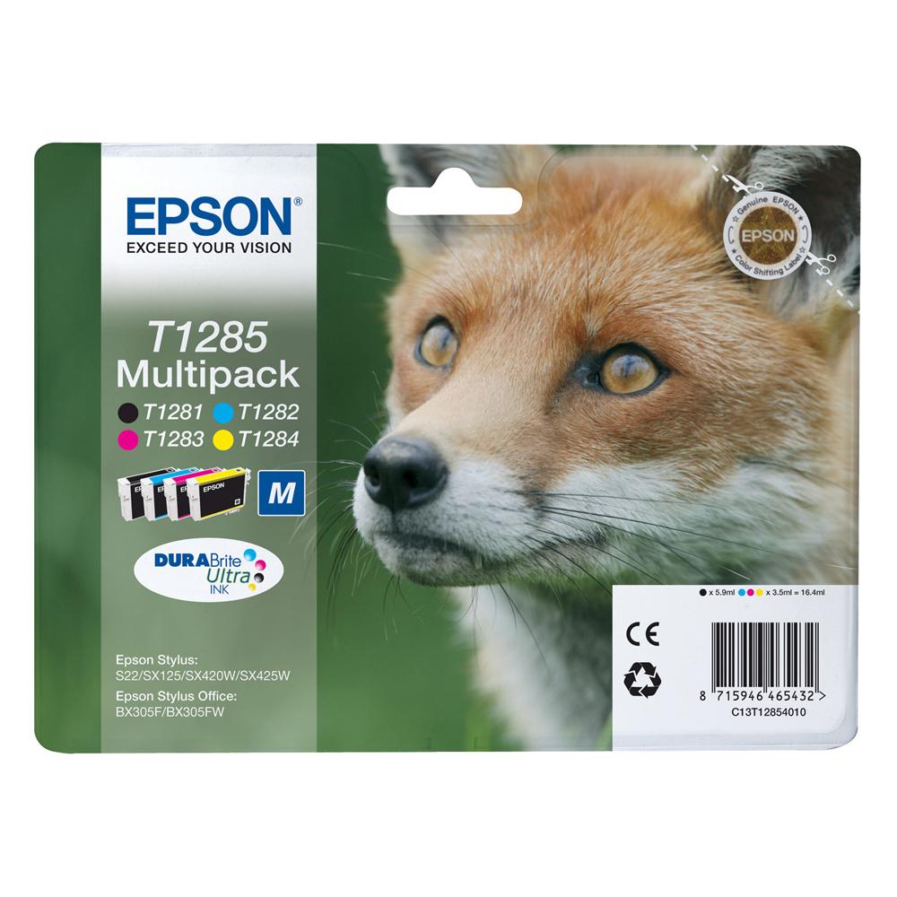 Epson Μελάνι Inkjet T1285 Multipack (C13T12854012) (EPST128540)