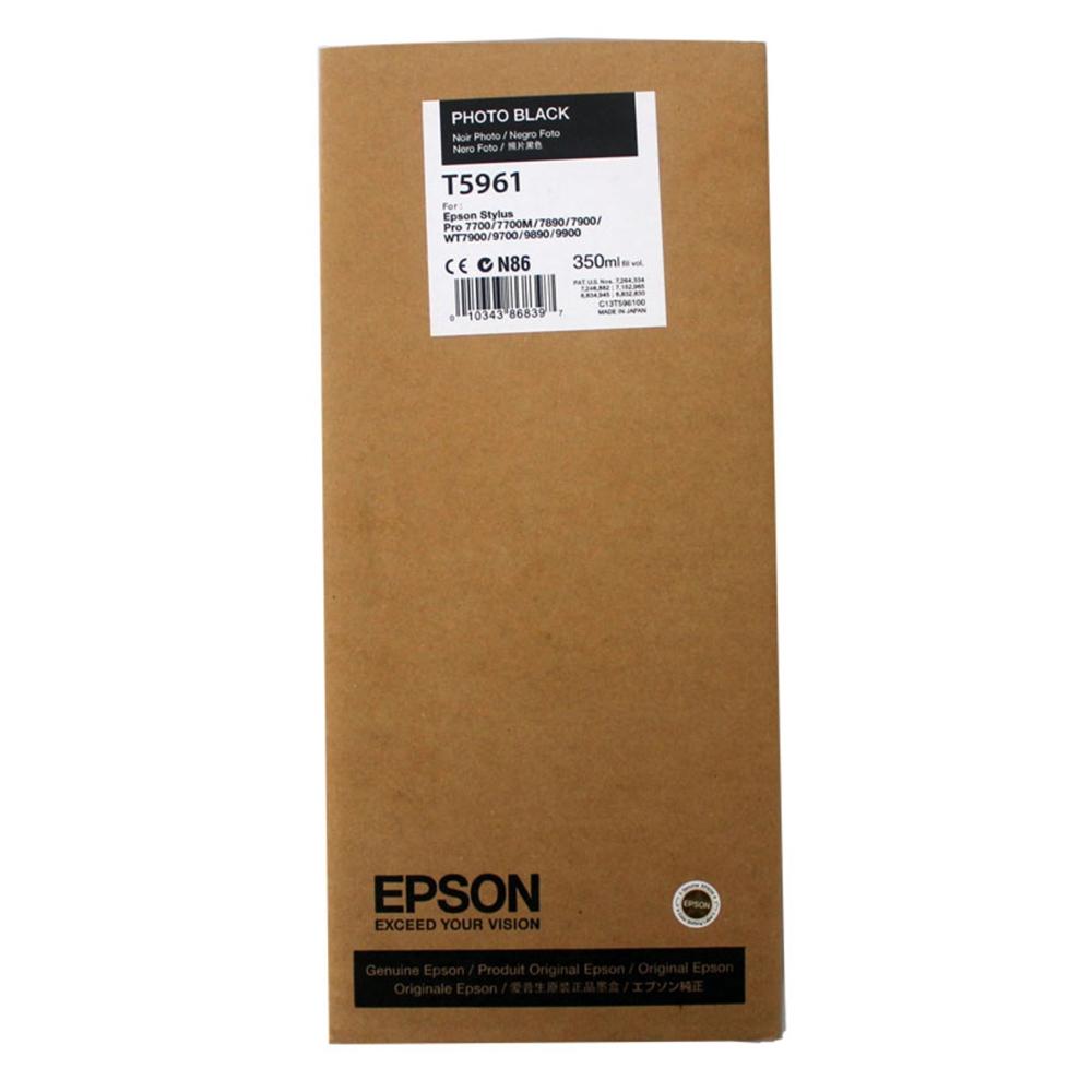 Epson Μελάνι Inkjet T5961 Photo Black (C13T596100) (EPST596100)